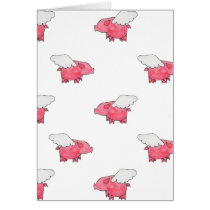 Flying Pigs Card