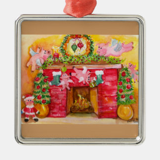 Flying Pigs Decorate Hearth & Home Ornament