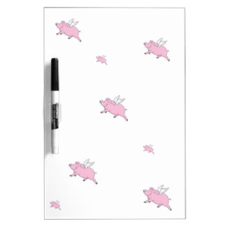 FLYING PIGS DRY ERASE BOARD
