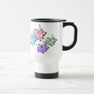 Flying Pigs Family Coffee Mug