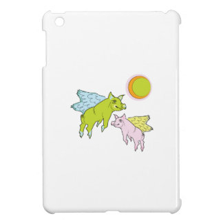 Flying Pigs iPad Mini Cover