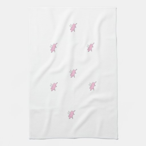 FLYING PIGS KITCHEN TOWELS