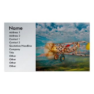 Flying Pigs - Plane - Eat Beef Double-Sided Standard Business Cards (Pack Of 100)