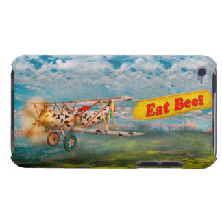 Flying Pigs - Plane - Eat Beef Barely There iPod Covers