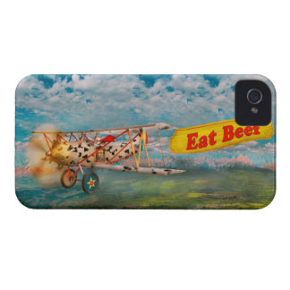 Flying Pigs - Plane - Eat Beef Case-Mate Blackberry Case