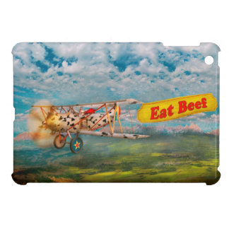 Flying Pigs - Plane - Eat Beef Cover For The iPad Mini