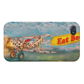Flying Pigs - Plane - Eat Beef iPhone 4/4S Covers