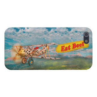 Flying Pigs - Plane - Eat Beef iPhone 5/5S Cases