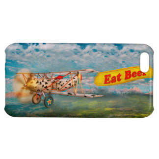 Flying Pigs - Plane - Eat Beef iPhone 5C Case