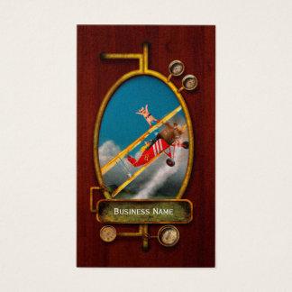 Flying Pigs - Plane - Hog Wild Business Card