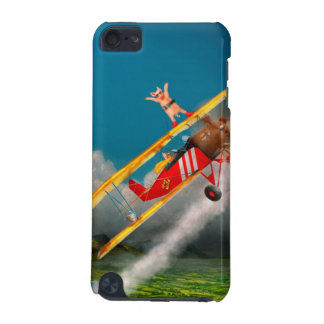 Flying Pigs - Plane - Hog Wild iPod Touch (5th Generation) Case