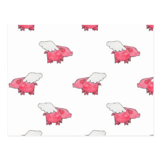 Flying Pigs Postcard