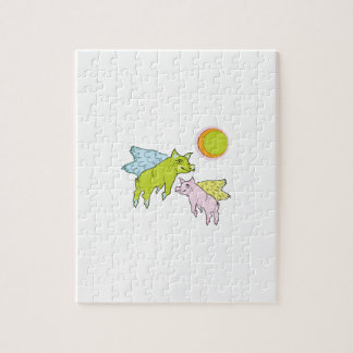 Flying Pigs Jigsaw Puzzles