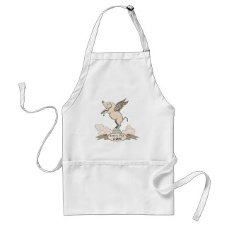 Flying Pigs Squad Adult Apron