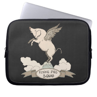 Flying Pigs Squad Computer Sleeves