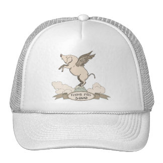 Flying Pigs Squad Trucker Hat