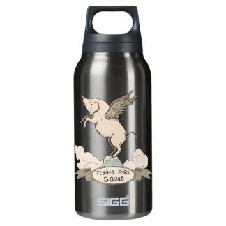 Flying Pigs Squad Insulated Water Bottle