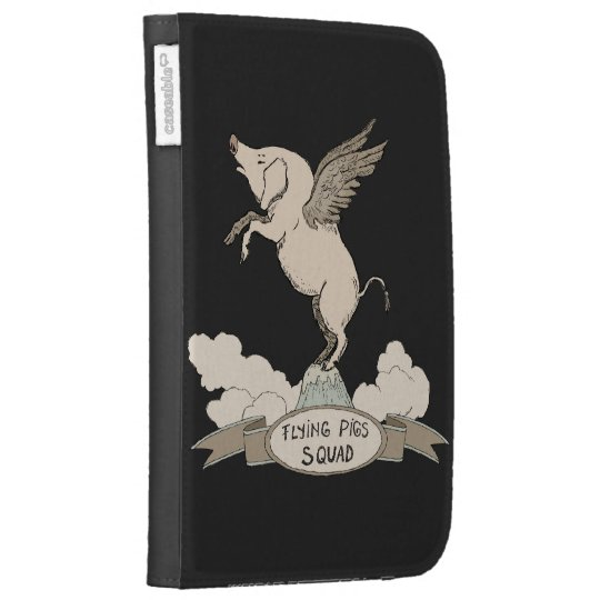 Flying Pigs Squad Kindle 3 Case
