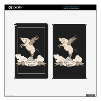 Flying Pigs Squad Kindle Fire Skin