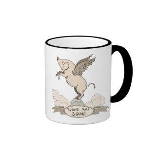 Flying Pigs Squad Ringer Mug