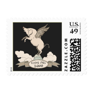 Flying Pigs Squad Stamp