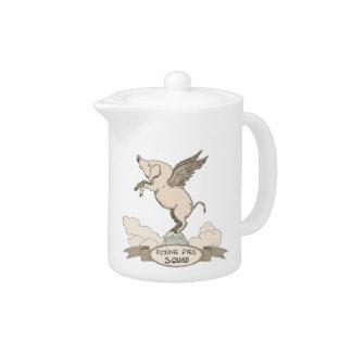 Flying Pigs Squad Teapot