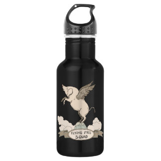 Flying Pigs Squad Water Bottle