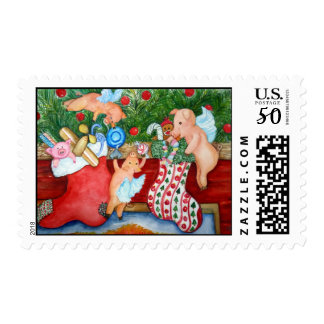 Flying Pigs Stuff Stockings Postage