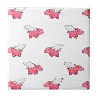 Flying Pigs Tile