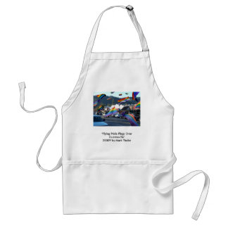 """""""Flying Pride Flags Over Guerneville"""" Apron"""
