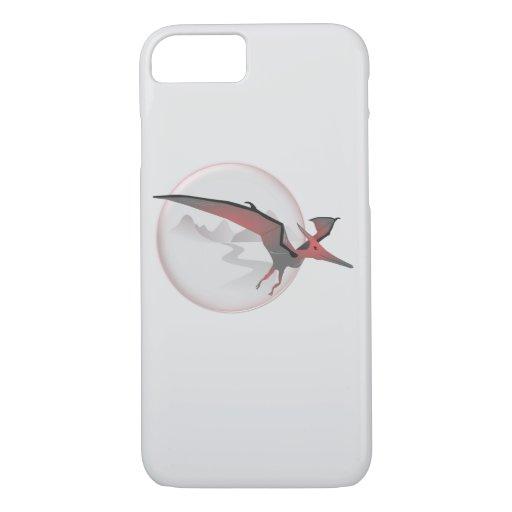 Flying pterodactyl iPhone 8/7 case