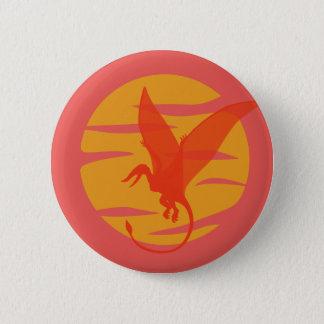 Flying Pterosaur Button