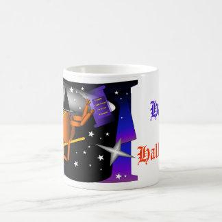 Flying Pumpkin Man Coffee Mug