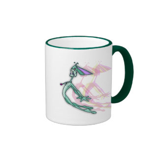 Flying? Rabbit! Ringer Mug