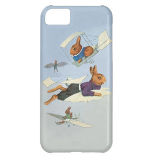 Flying Rabbits - Cute Vintage iphone5C Case iPhone 5C Case