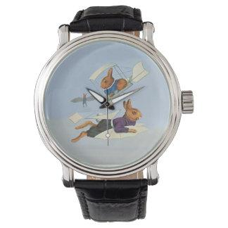 Flying Rabbits - Imaginative Wrist Watch