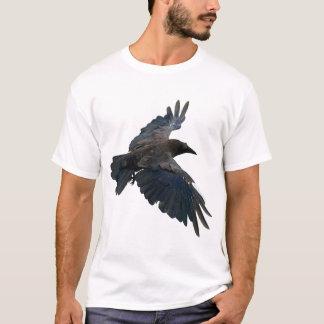 Flying Raven Corvid-lover T-Shirt