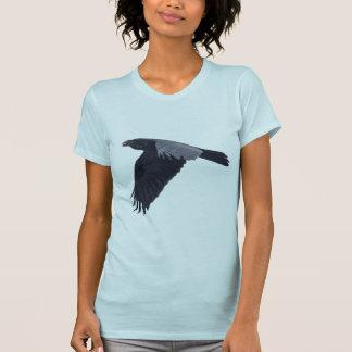 Flying Raven Crow Corvid-lover design T-Shirt