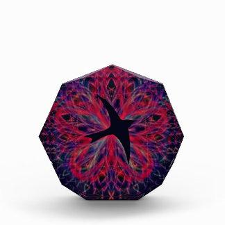 Flying Raven Kaleidoscope Acrylic Award