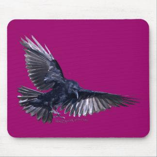 Flying Raven Mousepads