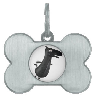 Flying Raven Pet ID Tag
