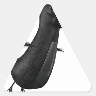 Flying Raven Triangle Sticker