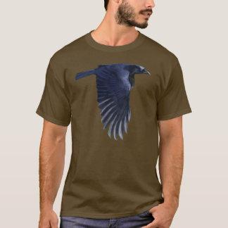 Flying Raven Wildlife Art Shirt