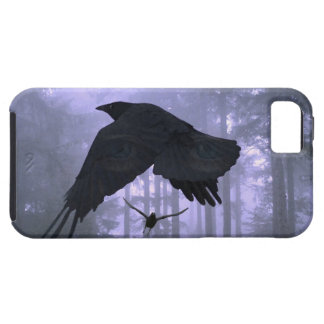 Flying Ravens, Forest & Eerie Eyes iPhone SE/5/5s Case