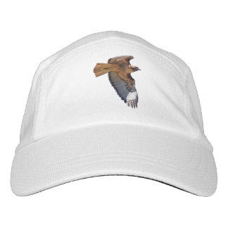 Flying Red-Tail Hawk Wildlife Design Headsweats Hat