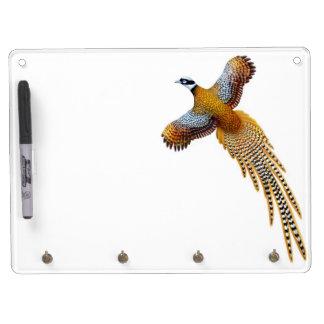 Flying Reeves Pheasant Dry Erase Board