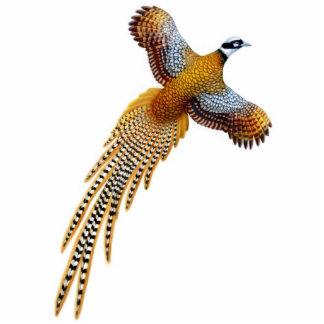 Flying Reeves Pheasant Ornament