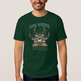 Flying Reindeer Tees
