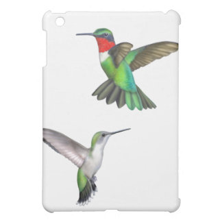 Flying Ruby Throated Hummingbirds Speck Case iPad Mini Cases