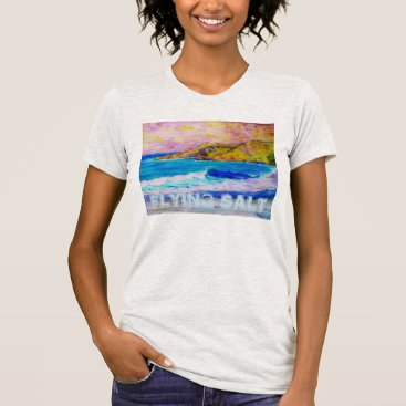 Beach Themed Flying Salt T-Shirt